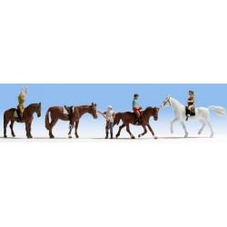 Cavalieri e cavalli scala N
