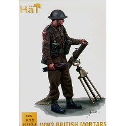 British Mortar Team WWII 1/72