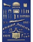 Cast metal decorations
